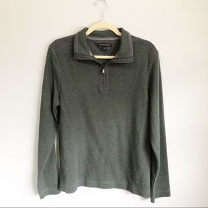 Banana Republic Zip Up Pull Over Sweater | Size M